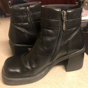 Leather Harley Boots like new